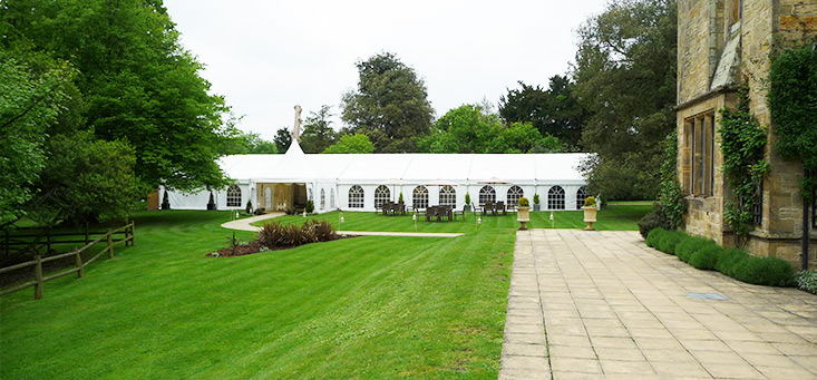 Mountains Country House, Kent - Marquee Wedding